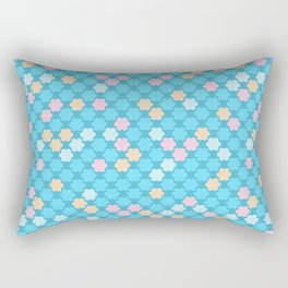 Sky blue . Rectangular Pillow