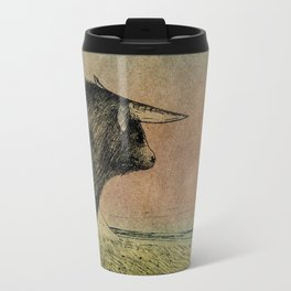 Alone bull Travel Mug