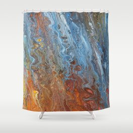 Fire & Ice Shower Curtain