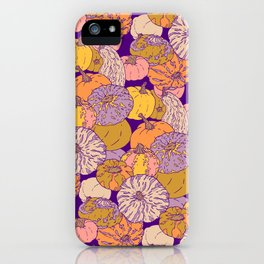 Pumpkin pattern iPhone Case