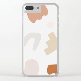 Shape Study #14 - Autumn Clear iPhone Case
