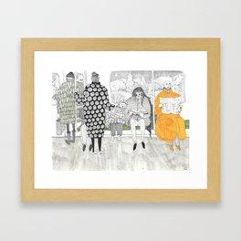 Bedtime Stories for Strangers' Children Framed Art Print