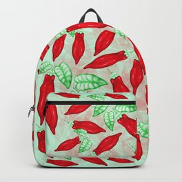 Red Hot Chilli Pepper Decorative Food Art Backpack