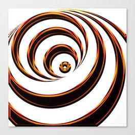 Concentric Circles - Optical Illusion Canvas Print