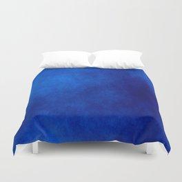 Misty Deep Blue Duvet Cover