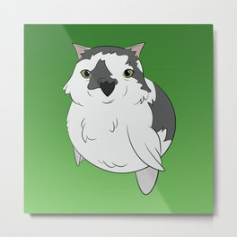 Garnet (Green Background) Metal Print