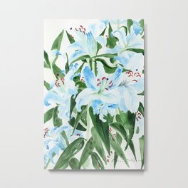 Flowers on my birthday Metal Print