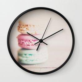 the sweet sweet macaron ... Wall Clock