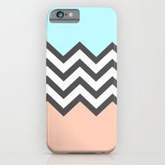 Color Blocked Chevron 4 Slim Case iPhone 6s