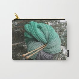 Winter Slytherin Carry-All Pouch