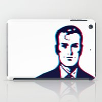 no face iPad Cases featuring face by radiozimbra
