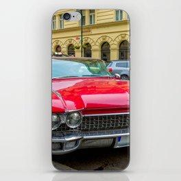 Retro Classic Car iPhone Skin