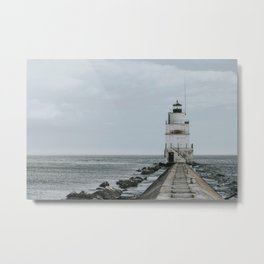 Lighthouse Point Metal Print