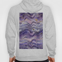Purple Geode or Amethyst Hoody