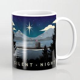 Silent Night - Submarine Christmas Coffee Mug