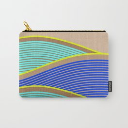 Happy Times - Neon Waves Carry-All Pouch