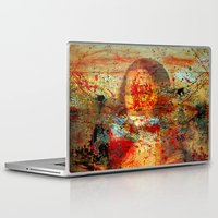da vinci Laptop & iPad Skins featuring Leonardo da Vinci Abstract  by  Agostino Lo Coco