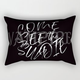 Vampire Come See the Sun Die Rectangular Pillow