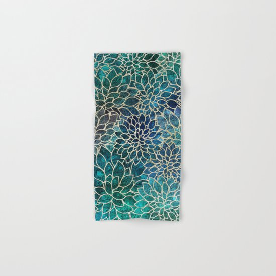 Floral Abstract 4 Hand & Bath Towel