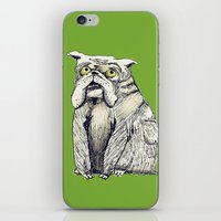 bulldog iPhone & iPod Skins featuring Bulldog by EstherSepers