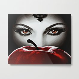 Once Upon A Time - Evil Heart Metal Print