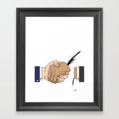 Blood Brothers Framed Art Print