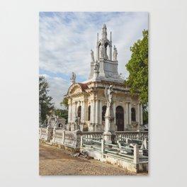 Christopher Columbus Necropolis Cemetery Graveyard Havana Cuba Latin America Gothic Architecture Sai Canvas Print