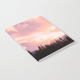 Rose Quartz Turbulence Notebook