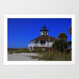 Boca Grande Lighthouse VII Art Print