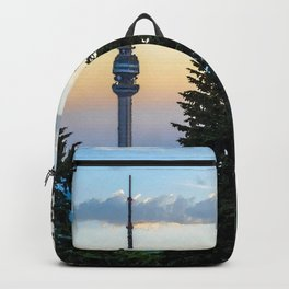 Mountain Avala, Belgrade, Watercolors Collection Backpack