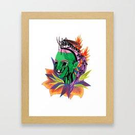 Hazey // Oblivion Framed Art Print