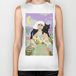Witchy Woman Biker Tank