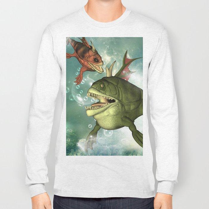 Armour fish Long Sleeve T-shirt