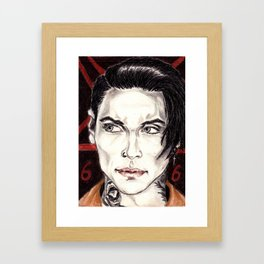 Andy Biersack Framed Art Print