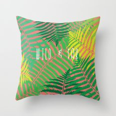WILD & FAB Throw Pillow