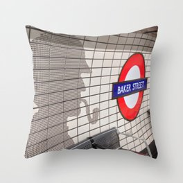 Baker Street Throw Pillow