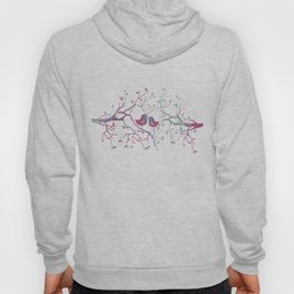 Birds Perched in Tree Hoody