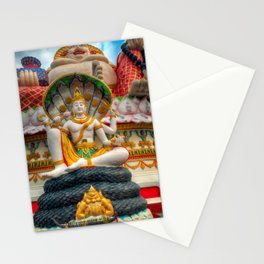 Lord Vishnu Thailand Temple Stationery Cards