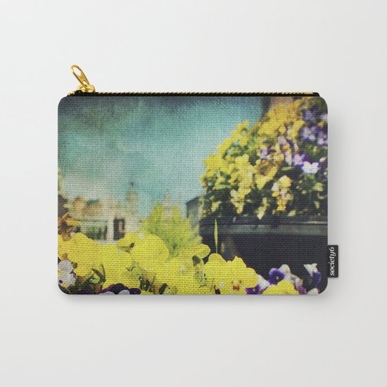 Behind the flowers Carry-All Pouch