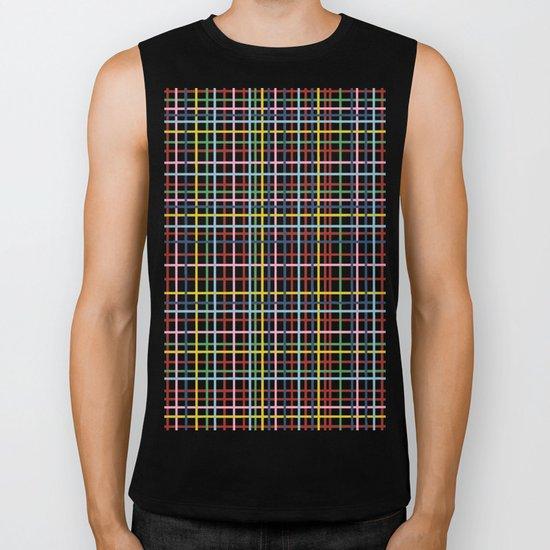 Rainbow Weave Biker Tank