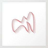 La Grand Vitesse (The Calder) Art Print