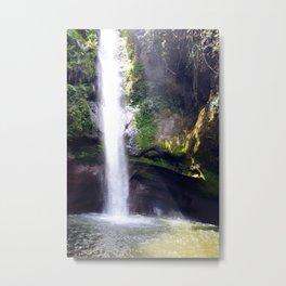 Dream of Mermaids in Waterfalls  Metal Print