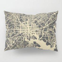Baltimore map Pillow Sham