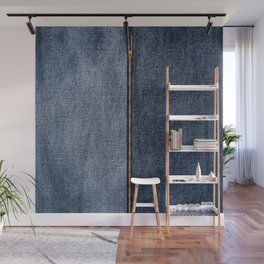 Denim Zip Wall Mural