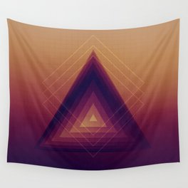 Geometric Abstraction Wall Tapestry