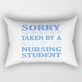 Taken By Nursing Student Rectangular Pillow