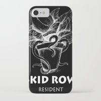 resident evil iPhone & iPod Cases featuring Skidrow resident by Darius Malone