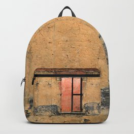 Ruin with Pink Window Backpack