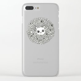 Cat food Clear iPhone Case