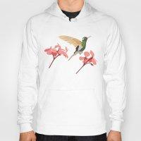 hummingbird Hoodies featuring Hummingbird by Ornaart